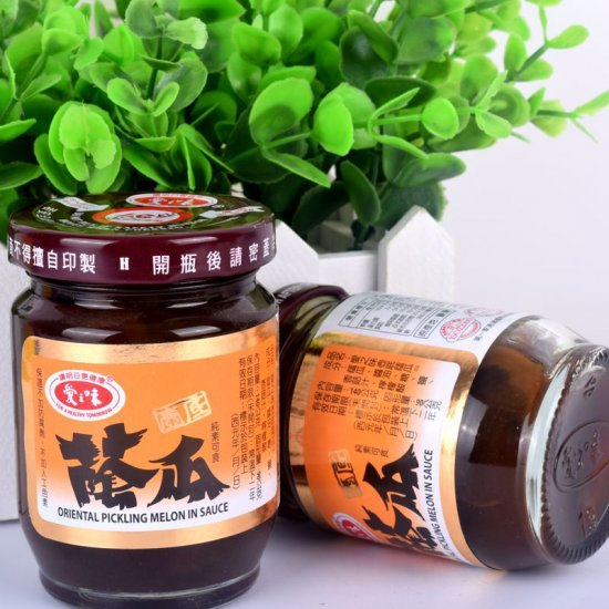 AG01 Preserved Yam melon in Soy sauce 140g