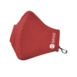 BR07 Brise Multi-shield facemask Peach Red
