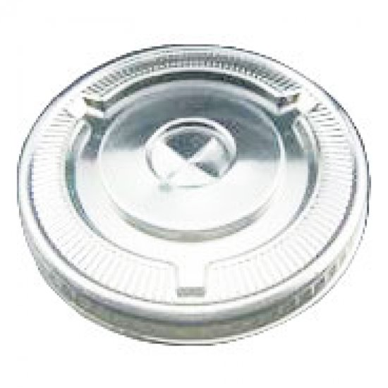 FT02 OPS 95mm transparent flat lid x100