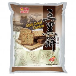FY25 Black Cereal Crackers 320g