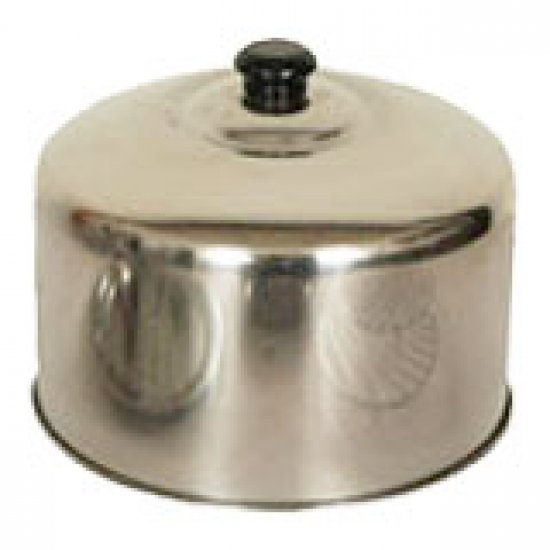 HM01 Stainless Pot Cover 18cm High