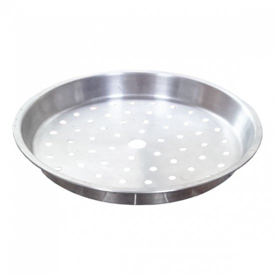 HM04 Stainless steam plate 23cm (holes)