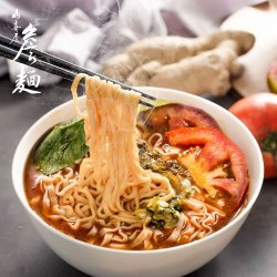 JN01 Tomato Egg Plant Noodle