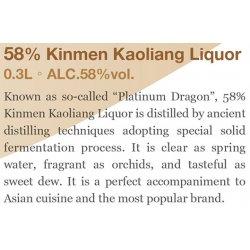 KK01 Kingmen Kaoliang Liquor 58% 300ml