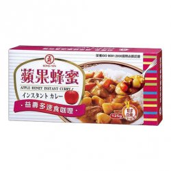 KY51 Apple Honey Instant Curry 125g