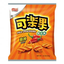 LH02 Koloko Pea Cracker Spicy Flavour 57g