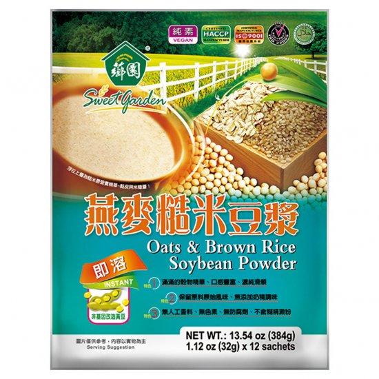 SG06 Oats & Brown Rice Soybean Powder 384g