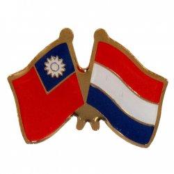 SJ01 TW-NL National Flag Badge