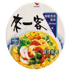 UP06 Instant Cup Noodle Shrimp flavor 63g