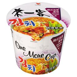 UP07 Instant Cup Noodle Kimchi 63g