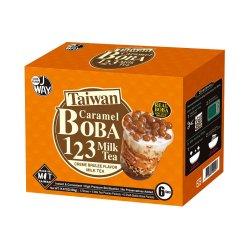WK02 Caramel Boba Milk Tea Gift Set